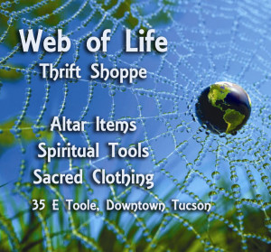 web of life thrift shoppe image
